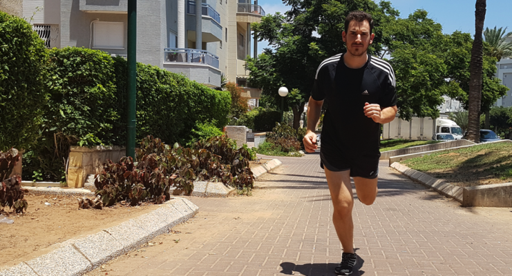 יונתן ארנון מאמן כושר ומדריך ריצה