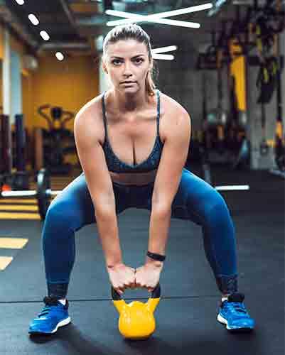קטלבל למגוון אימונים במגוון משקלים
